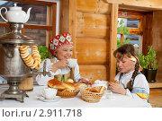 Чаепитие. Стоковое фото, фотограф Владимир Мельников / Фотобанк Лори