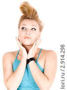 Купить «Портрет блондинки», фото № 2914298, снято 7 января 2010 г. (c) Сергей Сухоруков / Фотобанк Лори