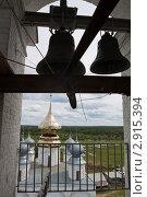 Купить «Свято-Николо-Тихоно-Лухский мужской монастырь Ивановская область. На колокольне», фото № 2915394, снято 20 июня 2010 г. (c) Igor Lijashkov / Фотобанк Лори