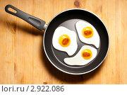 Концепт - яичница. Стоковое фото, фотограф Лукаш Дмитрий / Фотобанк Лори