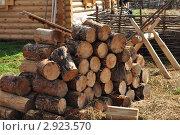Сосновые дрова. Стоковое фото, фотограф Серебрякова Анастасия / Фотобанк Лори