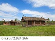 Купить «Древнерусская деревня Х века», фото № 2924266, снято 7 августа 2011 г. (c) FotograFF / Фотобанк Лори