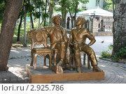 Купить «Памятник Остапу Бендеру в Бердянске», фото № 2925786, снято 10 июля 2011 г. (c) Александр Плахов / Фотобанк Лори