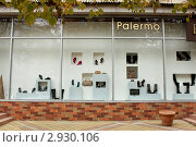 Купить «Витрина магазина», фото № 2930106, снято 31 октября 2011 г. (c) Юлия Ухина / Фотобанк Лори