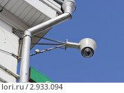 Купить «Камера видеонаблюдения», фото № 2933094, снято 16 апреля 2011 г. (c) Никита Ветренный / Фотобанк Лори