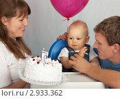 Купить «Первый День Рождения», фото № 2933362, снято 2 ноября 2011 г. (c) Юлия Машкова / Фотобанк Лори