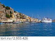 Греческий остров Сими (2011 год). Редакционное фото, фотограф Алексей Измайлов / Фотобанк Лори