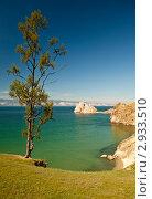 Купить «Байкал, остров Ольхон, мыс Бурхан», фото № 2933510, снято 12 августа 2011 г. (c) Сергей Белов / Фотобанк Лори