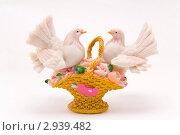 Сувенир с голубями. Стоковое фото, фотограф Сергей / Фотобанк Лори