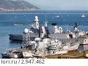 Купить «Военные корабли НАТО в порту города Специя, Италия», фото № 2947462, снято 22 мая 2019 г. (c) Николай Винокуров / Фотобанк Лори