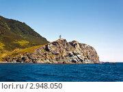 Камчатский пейзаж: мыс Зеленый в Авачинском заливе Тихого океана (2011 год). Стоковое фото, фотограф А. А. Пирагис / Фотобанк Лори