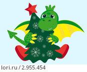 Купить «Дракон- символ 2012 года», иллюстрация № 2955454 (c) Tati@art / Фотобанк Лори