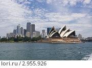 Купить «Оперный театр в Сиднее», фото № 2955926, снято 7 ноября 2011 г. (c) Аркадий Захаров / Фотобанк Лори