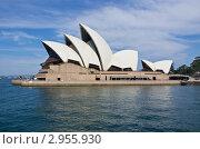 Купить «Оперный театр в Сиднее», эксклюзивное фото № 2955930, снято 9 ноября 2011 г. (c) Аркадий Захаров / Фотобанк Лори