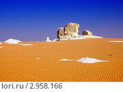 Купить «Пустыня Сахара, Белая пустыня, Египет», фото № 2958166, снято 27 декабря 2008 г. (c) Знаменский Олег / Фотобанк Лори