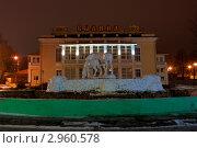 Ночной город. Рязань. (2011 год). Редакционное фото, фотограф Владимир Макеев / Фотобанк Лори