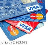 Купить «Пластиковые карты», фото № 2963678, снято 15 февраля 2020 г. (c) SevenOne / Фотобанк Лори