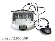Купить «Универсальное зарядное устройство», фото № 2965558, снято 14 ноября 2011 г. (c) Parmenov Pavel / Фотобанк Лори