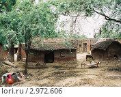 Купить «Индийская деревня», эксклюзивное фото № 2972606, снято 18 августа 2005 г. (c) Free Wind / Фотобанк Лори