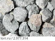 Купить «Камни крупным планом», фото № 2977314, снято 22 октября 2018 г. (c) Дмитрий Калиновский / Фотобанк Лори