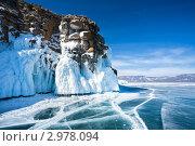 Купить «Байкал. Малое Море зимой», фото № 2978094, снято 27 марта 2011 г. (c) Виктория Катьянова / Фотобанк Лори