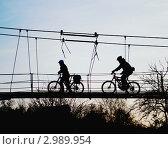 Велосипедная прогулка. Стоковое фото, фотограф Александр Фемяк / Фотобанк Лори