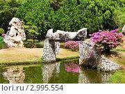 Купить «Вид на парк миллионлетних камней около курортного города Паттайя, Таиланд», эксклюзивное фото № 2995554, снято 16 декабря 2010 г. (c) Николай Винокуров / Фотобанк Лори