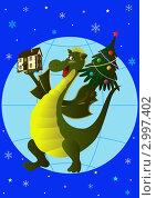 Купить «С новым домом в Новый год!», иллюстрация № 2997402 (c) Валентина Шибеко / Фотобанк Лори