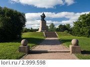 Выборг. Памятник Петру I (2011 год). Редакционное фото, фотограф Литвяк Игорь / Фотобанк Лори