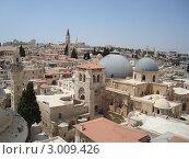 Купить «Иерусалим», фото № 3009426, снято 7 августа 2010 г. (c) Щелкотунова Любовь / Фотобанк Лори