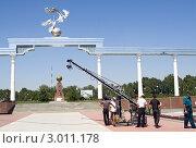 Купить «Ташкент. Площадь Мустакиллик майдони», фото № 3011178, снято 6 августа 2009 г. (c) Татьяна Нафикова / Фотобанк Лори