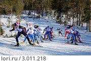 Купить «Чемпионат России по лыжным гонкам среди мужчин», фото № 3011218, снято 12 апреля 2009 г. (c) Кузнецов Дмитрий / Фотобанк Лори