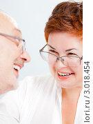 Счастливые супруги среднего возраста. Стоковое фото, фотограф IEVGEN IVANOV / Фотобанк Лори