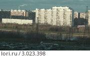 Купить «Городской пейзаж. Таймлапс», видеоролик № 3023398, снято 8 декабря 2011 г. (c) Андрей Некрасов / Фотобанк Лори