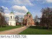 Купить «Бородино. Спасо-Бородинский женский монастырь», эксклюзивное фото № 3025726, снято 7 мая 2011 г. (c) ДеН / Фотобанк Лори
