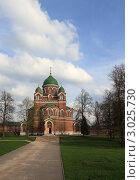 Купить «Бородино. Спасо-Бородинский женский монастырь», эксклюзивное фото № 3025730, снято 7 мая 2011 г. (c) ДеН / Фотобанк Лори