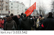 Купить «Демонстрация против нечестных выборов, 10 декабря, Петрозаводск», видеоролик № 3033542, снято 10 декабря 2011 г. (c) Павел С. / Фотобанк Лори