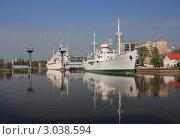 Корабль музей (2011 год). Редакционное фото, фотограф Виктор Зандер / Фотобанк Лори