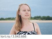 На Волге. Стоковое фото, фотограф Маргарита Волгина / Фотобанк Лори