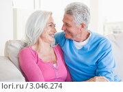 Купить «Любящие друг друга пожилые люди, смотрят друг на друга», фото № 3046274, снято 16 января 2007 г. (c) Monkey Business Images / Фотобанк Лори