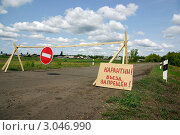 Карантин (2010 год). Стоковое фото, фотограф Дмитрий Лемешко / Фотобанк Лори