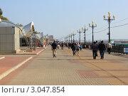 Хабаровск. Набережная. (2011 год). Редакционное фото, фотограф Евгений Леонов / Фотобанк Лори