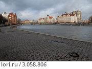 Калининград.Набережная (2011 год). Редакционное фото, фотограф Svet / Фотобанк Лори