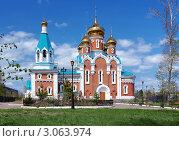 Купить «Церковь Ильи Пророка в Комсомольске-на-Амуре», фото № 3063974, снято 22 мая 2011 г. (c) Михаил Марковский / Фотобанк Лори