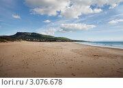 Пляж Болония, Испания. Стоковое фото, фотограф Юрий Гринфельд / Фотобанк Лори