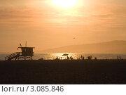 Санта-Моника, Лос-Анжелес, Калифорния (2009 год). Стоковое фото, фотограф Екатерина Федорова / Фотобанк Лори