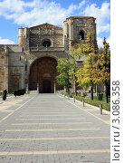 Фасад музей- церковь монастыря Святого Марка  Леон де Кастилия. Стоковое фото, фотограф киров николай / Фотобанк Лори
