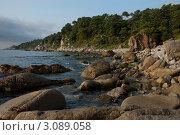 КНДР. Северная Корея. Морской пейзаж близ города Расон. (2009 год). Стоковое фото, фотограф Александронец Олеся / Фотобанк Лори