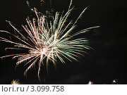 Фейерверк. Стоковое фото, фотограф Марина Зимина / Фотобанк Лори