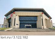 Купить «Спортивный комплекс Баскет-холл  в Казани», фото № 3122182, снято 29 июня 2010 г. (c) Наталья Волкова / Фотобанк Лори